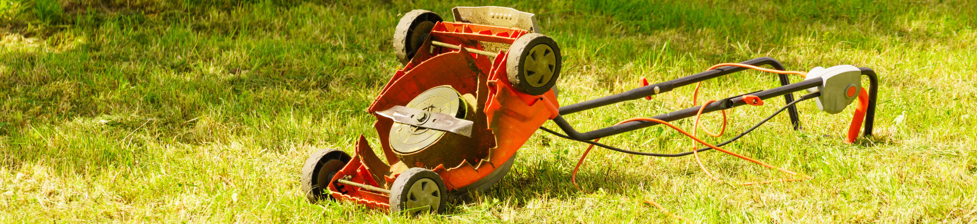 defective lawn mower